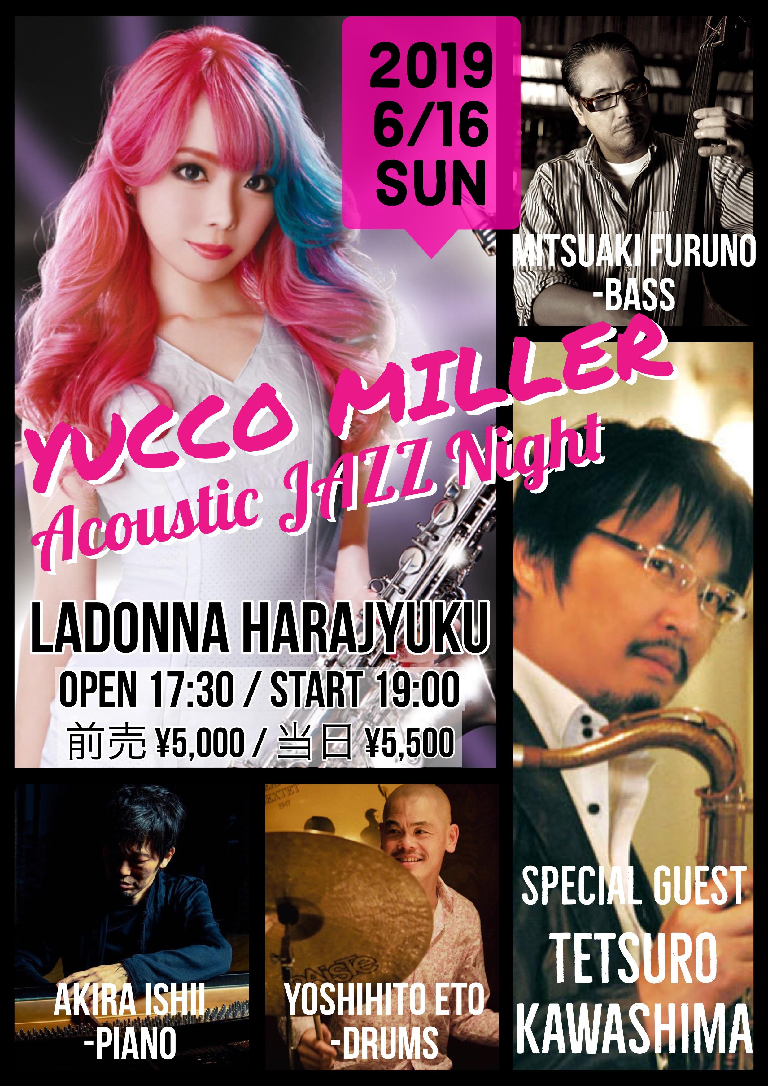 YUCCO MILLER Acoustic JAZZ Night
