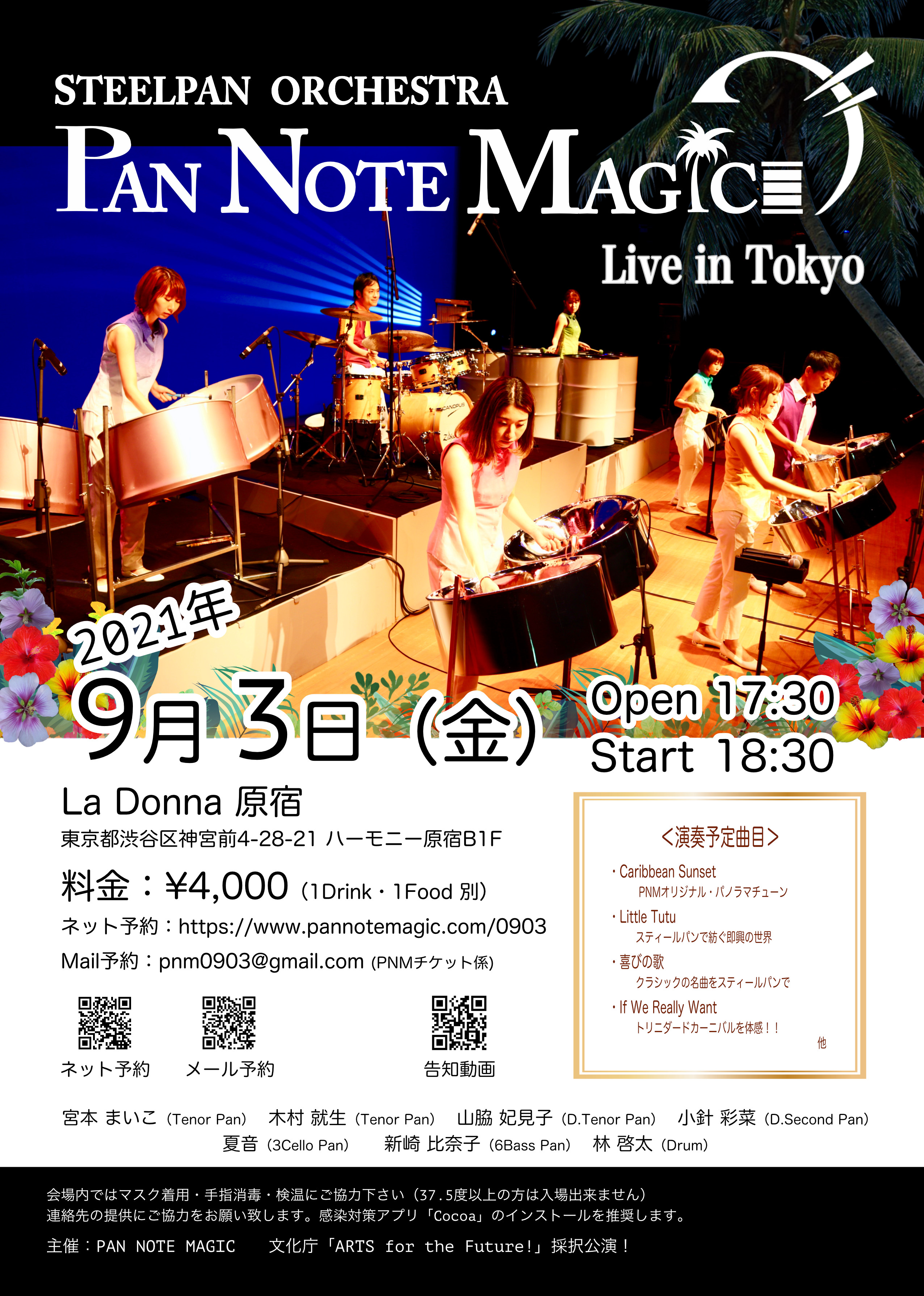 STEELPAN ORCHESTRA  PAN NOTE MAGIC Live in Tokyo