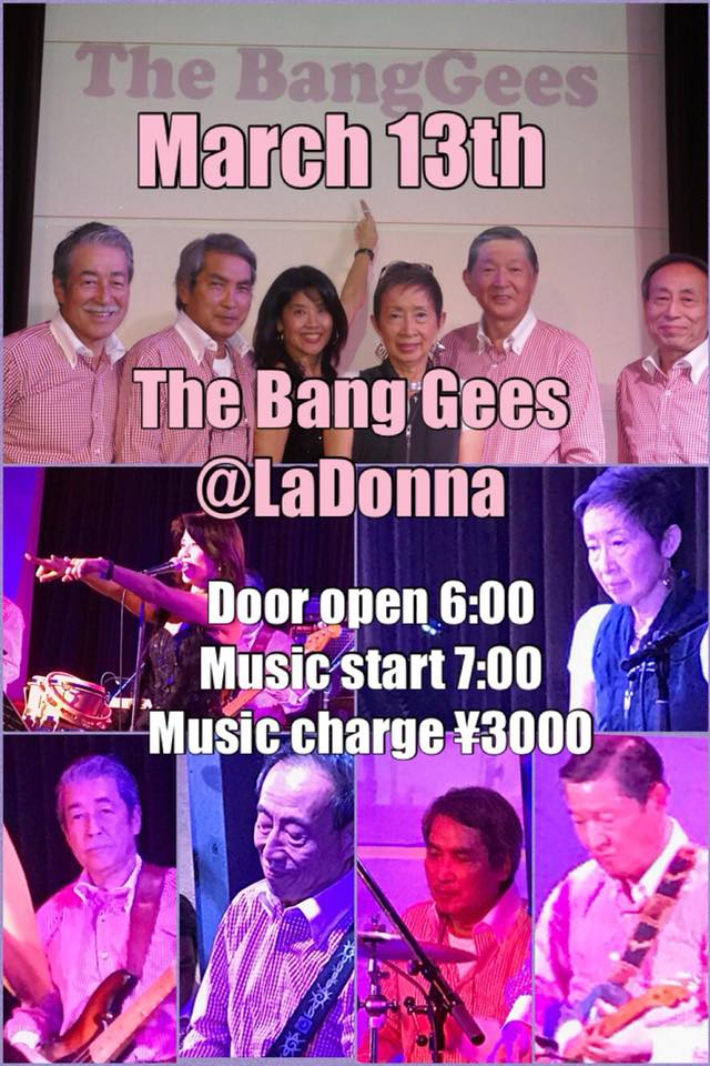 The Bang Gees @LaDonna