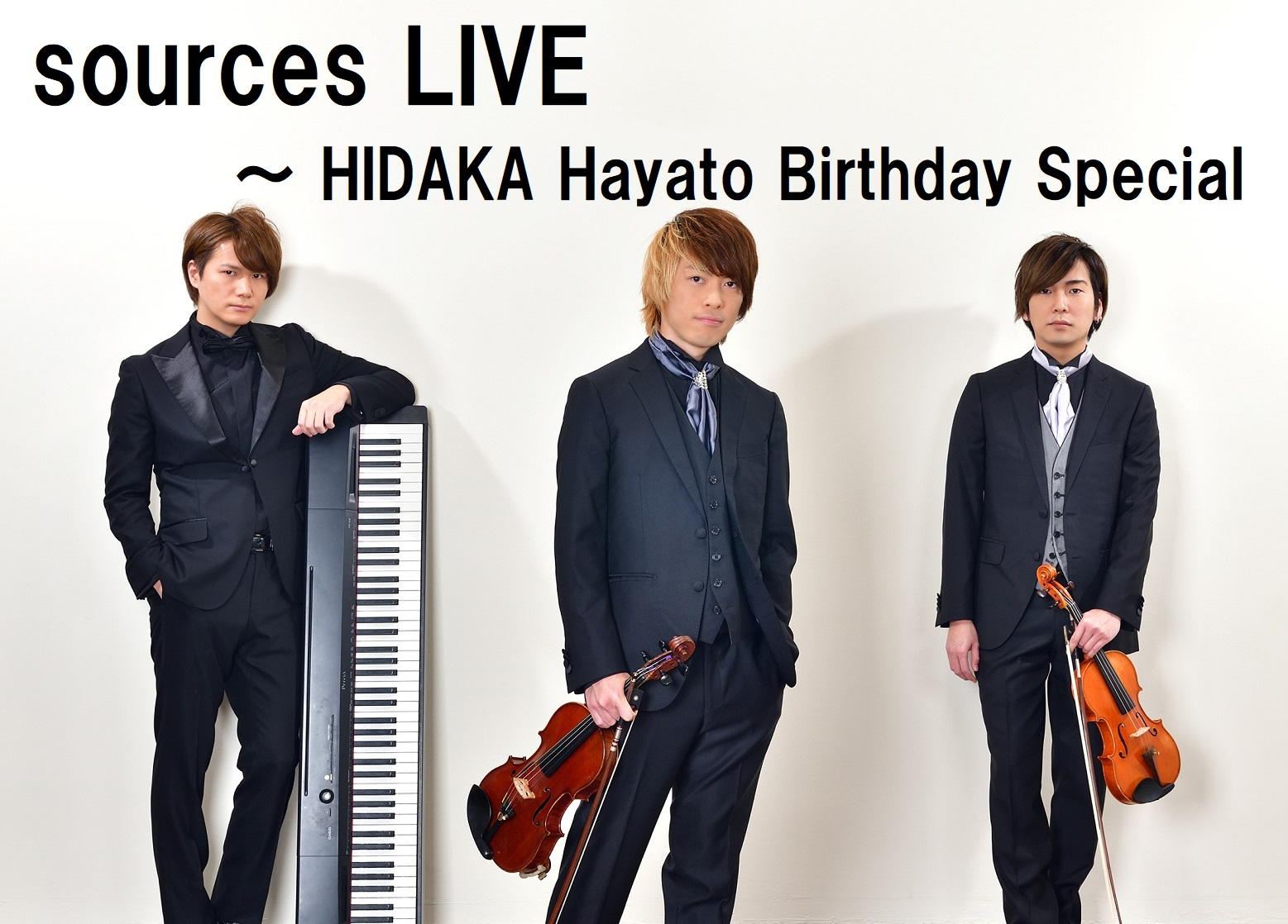 sources LIVE ~ HIDAKA Hayato Birthday Special  ライブ&生配信